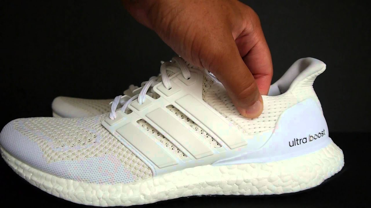 adidas ultra impulso bianco w / black solo su youtube
