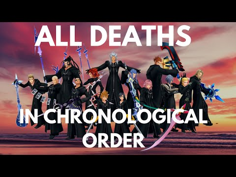 KH Organization XIII's Deaths/Roxas' Losses in Chronological Order