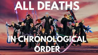 KH Organization XIII's Deaths/Roxas' Losses in Chronological Order (HD)