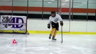 11 year old AAA Hockey player Tommy Jacques 4D Hockey Training