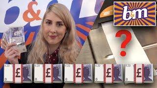SPENDING £100 IN B&M CHALLENGE