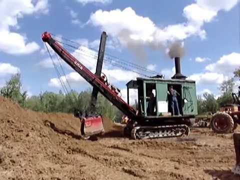 Erie B Steam Shovel Part 1 of 2 from 2006