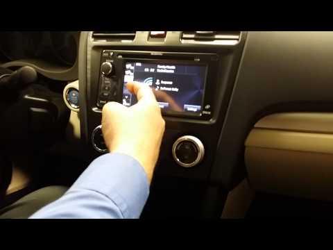 2014 Subaru GPS Demo Bluetooth Guide