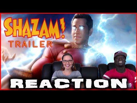 SHAZAM SDCC TRAILER [REACTION]