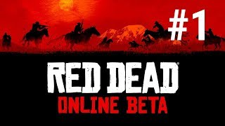 [Episode 1] Red Dead Redemption II Online PS4 [Getting My First Horse and The Opening]