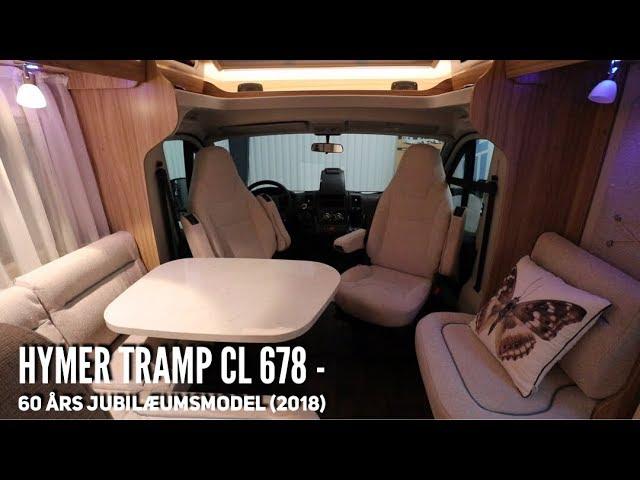Hymer Tramp CL 678 - 60 års jubilæumsmodel (2018 årgang)
