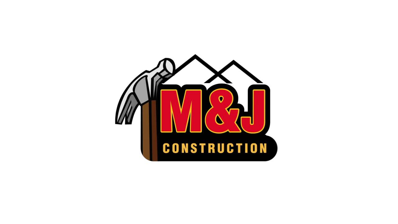 M J Construction Animated Logo In The Works