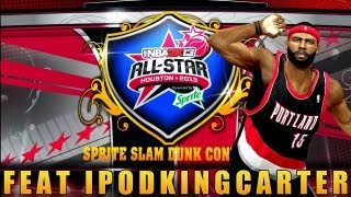 NBA 2K13 MyCAREER - Sprite Slam Dunk Contest | Siri Hosting With IKC At The 2013 All-Star Weekend