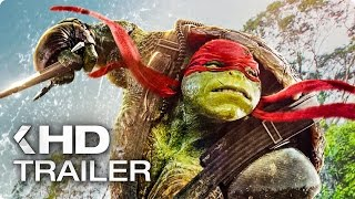 Repeat youtube video Teenage Mutant Ninja Turtles 2: Out Of The Shadow ALL Trailer & Clips (2016)