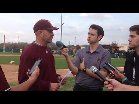 Texas State Postgame Interview-Ty Harrington