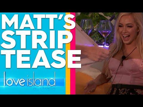 Exclusive: Matt Performs A Strip Tease | Love Island Australia 2019