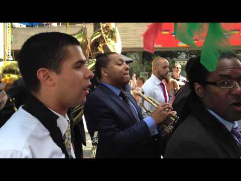 Just a Closer Walk With Thee - Parade in Memory of Trumpeter Abram Wilson (Part 1)