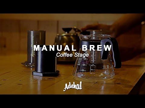 Manual Brewing Coffee | Tubruk | Aeropress | Coffee Stage