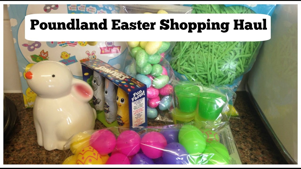 Poundland Easter Shopping Haul 2017