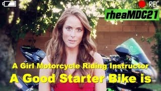 Starting to Ride a Motorcycle - The Best Bikes for Beginner Riders are