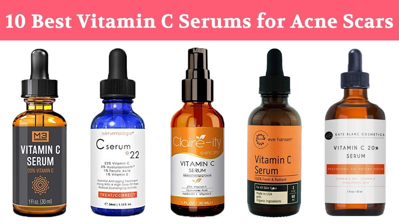 10 Best Vitamin C Serum For Acne Scars For Pimple Marks Age