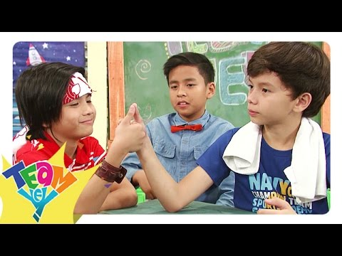 Game Play: Thumb Wrestling | Team Yey