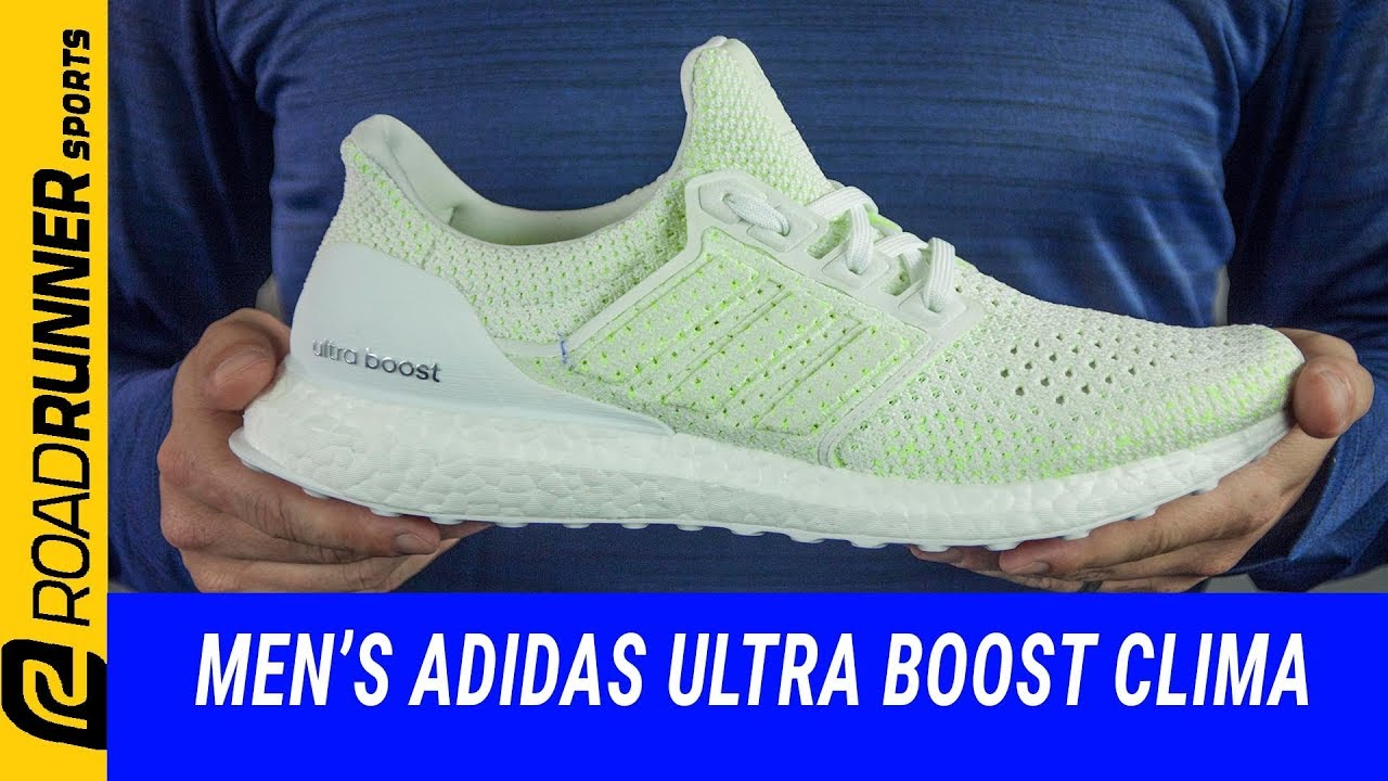 new product 0cbc3 b27a6 Men's Adidas Ultra Boost Clima | Fit Expert Shoe Review