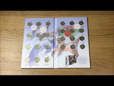 UK £1 ALBUM WITH COMPLETER MEDALLION || 1983 - 2015 || ROYAL MINT || 2018 VIDEO