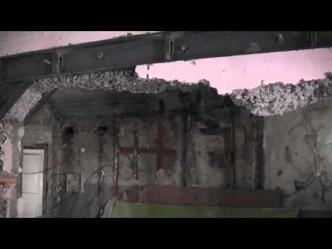видео: снос капитальной стены