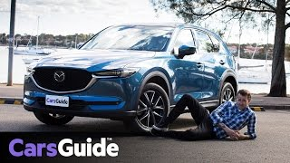 Mazda CX-5 Akera 2017 review: road test video