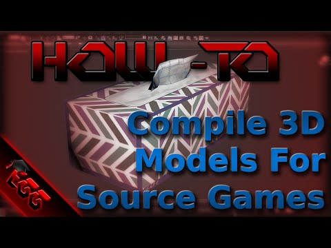 TUTORIAL - Compile 3D Models For Source Engine Games (3DS Max to CS:GO)