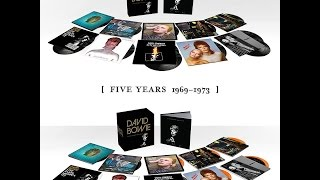 Unboxing David Bowie (Five Years 1969 – 1973)