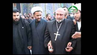 christian fathers tribute to imam hussain
