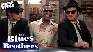 The Blues Brothers - Ray Charles Shake Your Tail Feather OFFICIAL HD VIDEO