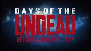 Call of Duty Black Ops III - Official Days of the Undead Trailer (Xbox 2017)