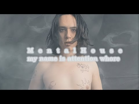 Mental House - my name is attention whore (Official Music Video)