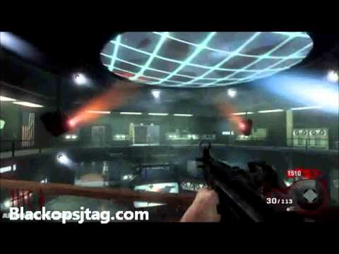 Call of Duty Black Ops: Zombie Easter Egg  Play Eminem  Wont Back Down in FIVE!