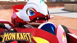 🐲 Siêu thú đua xe chiến đấu | Monkart HL1 | Robot biền hình | Ôtô hoạt hình hay nhất thế giới 2020