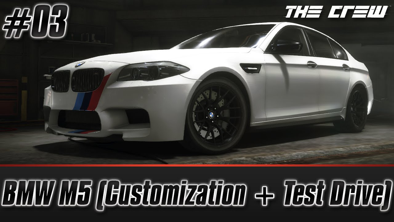 The Crew PC BMW M5 2011 Customization Performance Spec  Test
