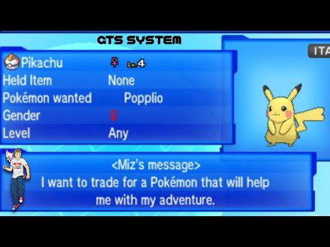 How To Use The GTS System To Search For Pokemon In Pokemon Sun And Moon Tutorial