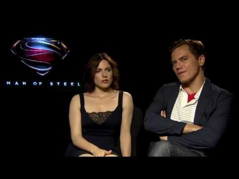 Digital Spy: Man of Steel - Interview with Michael Shannon & Antje Traue