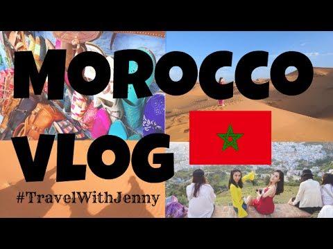 【Jenny】 MOROCCO VLOG  摩洛哥自助游   非洲   撒哈拉沙漠   Chefchaouen   Casa Blanca
