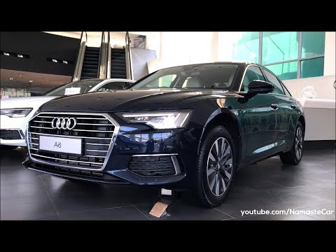 Audi A6 45 TFSI Technology 2019 | Real-life review