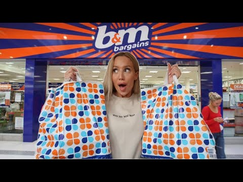COME TO B&M WITH ME! NEW IN SPRING 2019 HAUL | ELLE DARBY