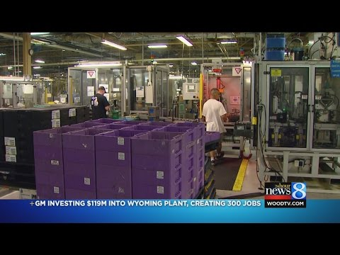GM Investing $119M In Wyoming Plant; Creating 300 Jobs