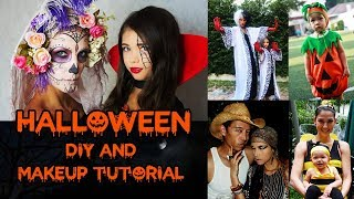 Halloween DIY and Makeup Tutorial
