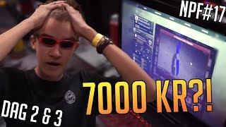 HAN ÅBNER KNIV TIL 7000 KR?! - NPF#17 Dag 2 + 3 VLOG
