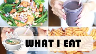 what i eat in a day vlogg