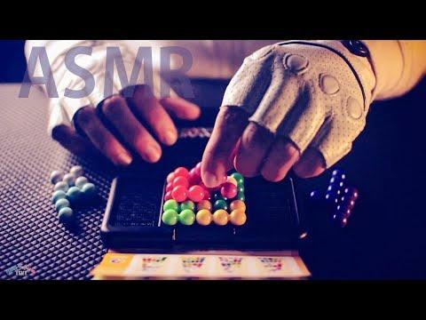 [ASMR] Clicky Plastic Puzzle 3D Tetris Focus - NO TALKING