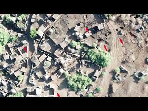 الحديدة: تصوير جوي يوثق عبث المليشيات بمنازل المواطنين في مدينة الدريهمي