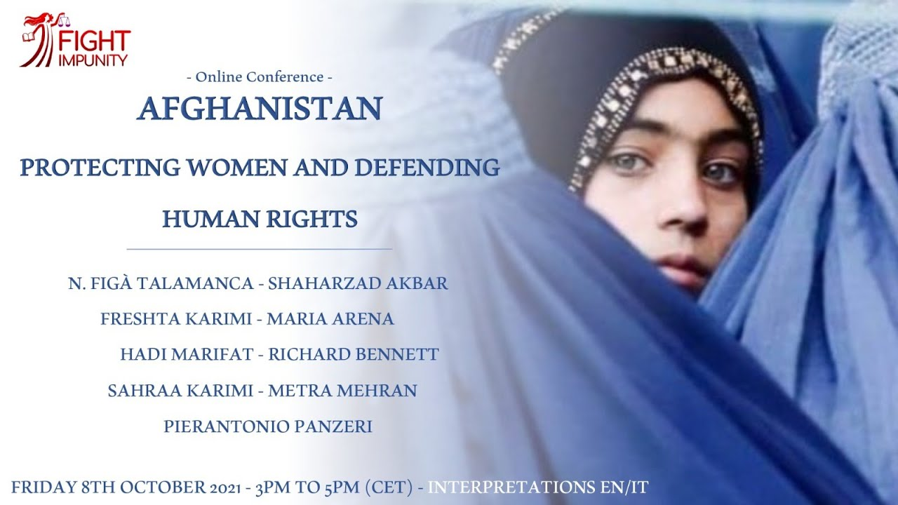 Afghanistan, protecting women and defending human rights