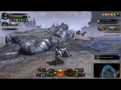 neverwinter gameplay 2016 Oathbound paladin level 63 elemental evil - drowned shore part 6