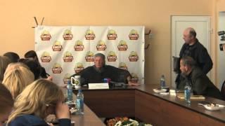 Михаил Задорнов. Интервью в  Смоленске. Часть 6