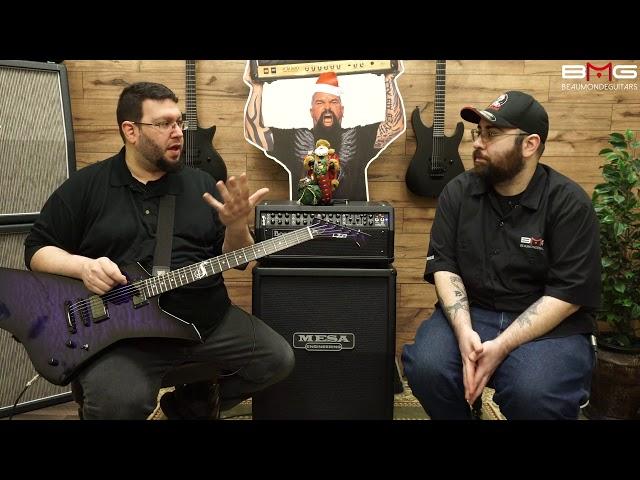 Harry's ESP LTD James Hetfield SE Snakebyte Baritone Guitar!