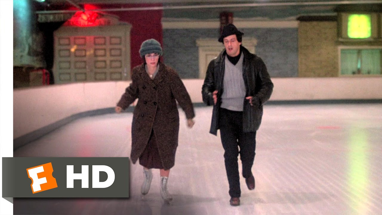 Rocky 1 10 Movie Clip Date At The Ice Rink 1976 Hd Youtube